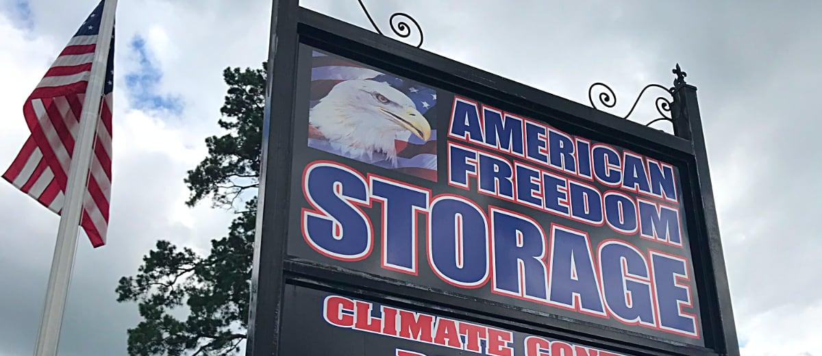 American Freedom Storage - Self storage in Benton
