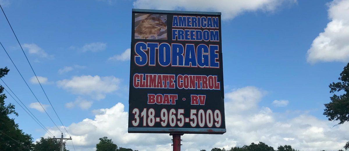 Best self storage in Benton Louisiana